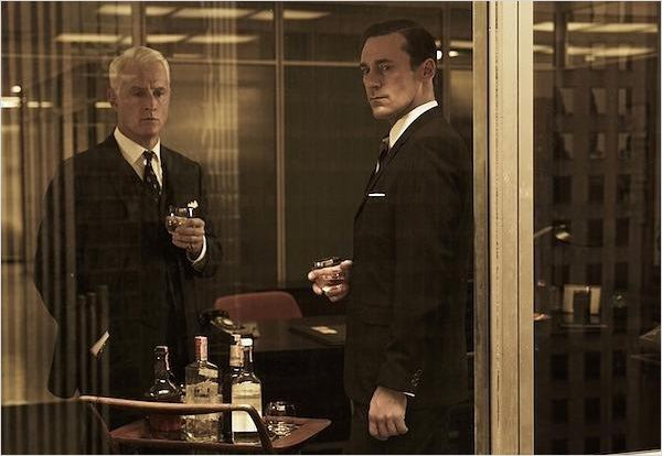 Mad Men : Photo John Slattery, Jon Hamm
