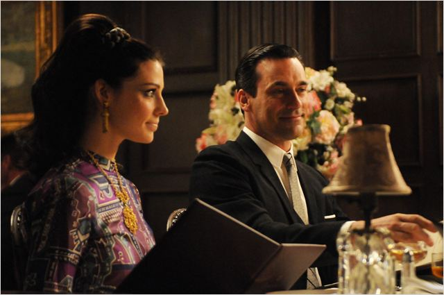 Mad Men : photo Jessica Paré, Jon Hamm