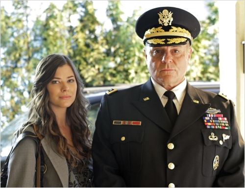 Smallville : photo Michael Ironside, Peyton List
