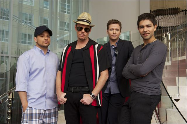 Entourage : photo Adrian Grenier, Jerry Ferrara, Kevin Connolly, Kevin Dillon
