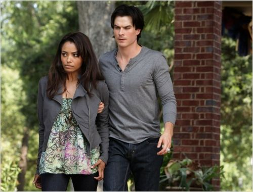 Vampire Diaries : photo Ian Somerhalder, Katerina Graham