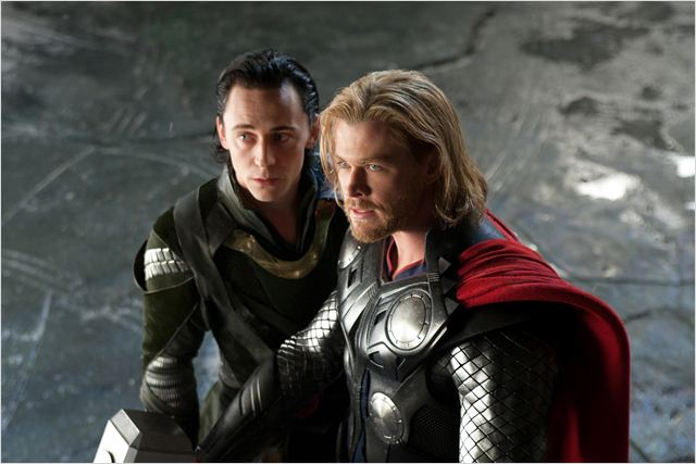 Thor : photo Chris Hemsworth, Kenneth Branagh, Tom Hiddleston