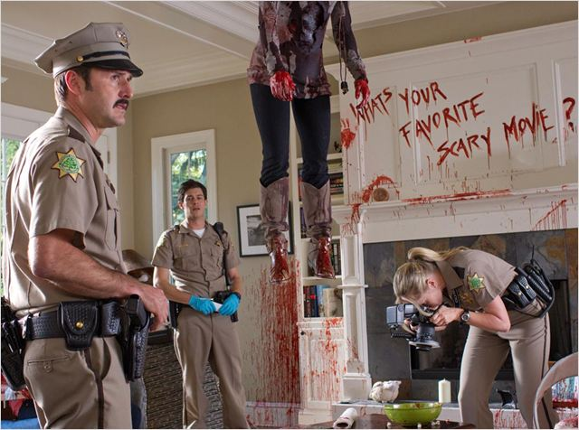 Scream 4 : Photo Adam Brody, David Arquette, Marley Shelton, Wes Craven