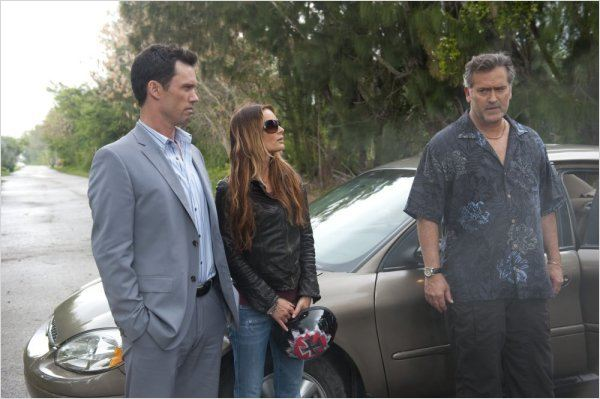 Burn Notice : Photo Gabrielle Anwar, Jeffrey Donovan