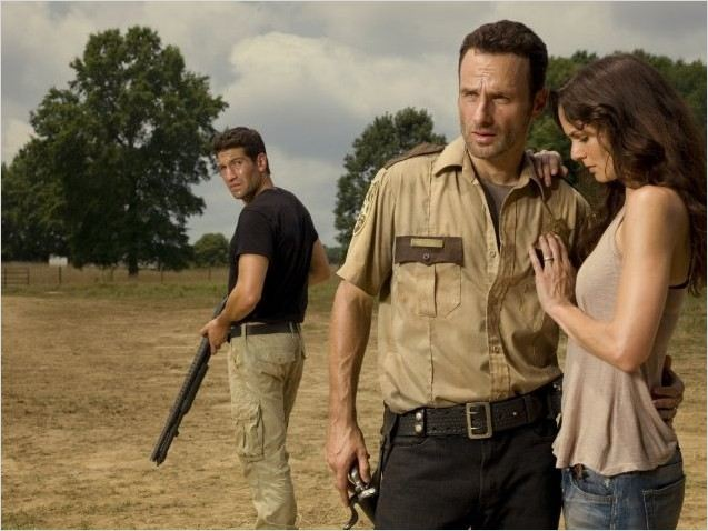 Photo Andrew Lincoln, Jon Bernthal, Sarah Wayne Callies