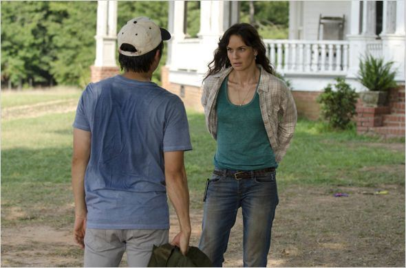 The Walking Dead : photo Sarah Wayne Callies, Steven Yeun
