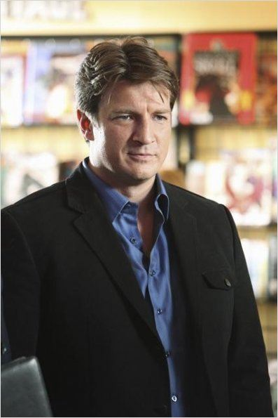 Castle : photo Nathan Fillion