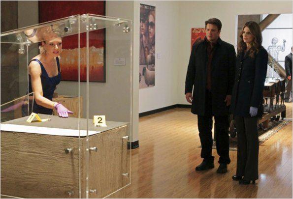 Photo Kristin Lehman, Nathan Fillion, Stana Katic