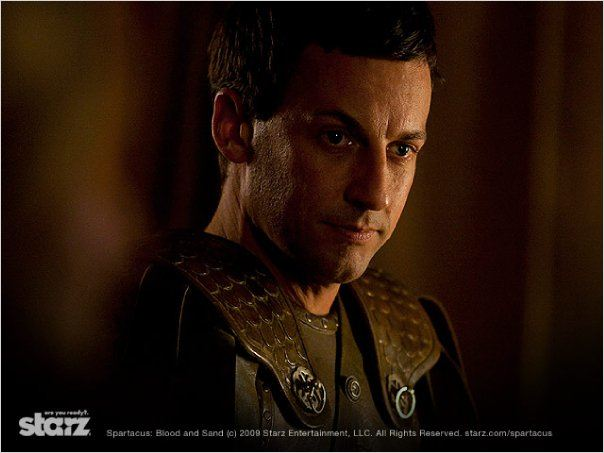 Spartacus : Photo Craig Parker