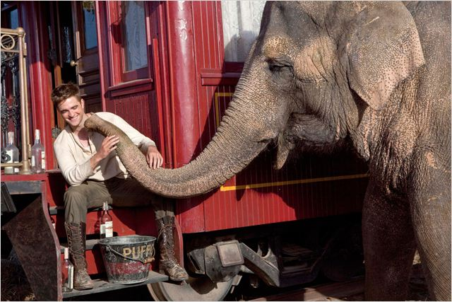 De l'eau pour les éléphants : Photo Francis Lawrence, Robert Pattinson