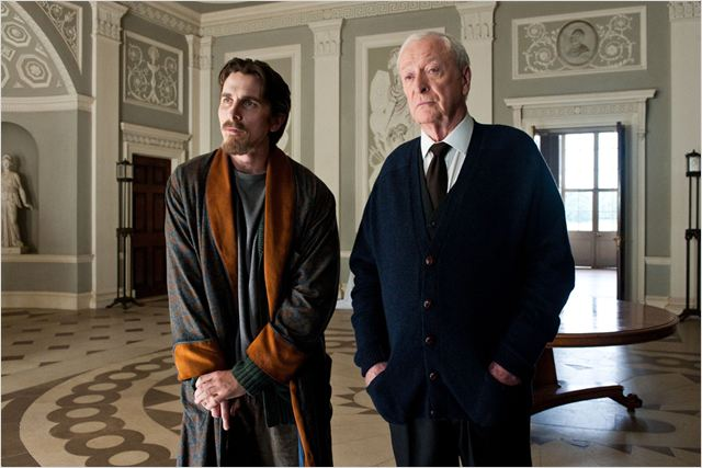 The Dark Knight Rises : Photo Christian Bale, Christopher Nolan, Michael Caine