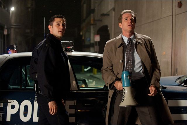 The Dark Knight Rises : Photo Christopher Nolan, Joseph Gordon-Levitt, Matthew Modine