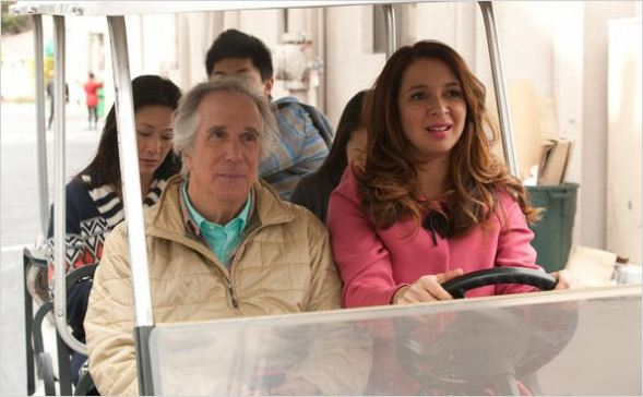 Up All Night : photo Henry Winkler, Maya Rudolph