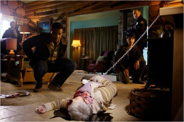 Grimm : photo David Giuntoli, Robert Blanche, Russell Hornsby
