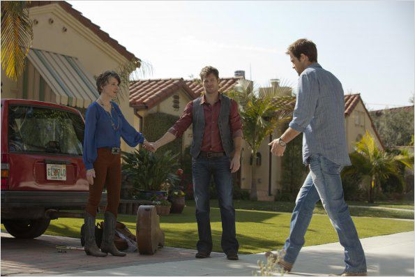 Photo Annette O'Toole, Geoff Stults, George Stults