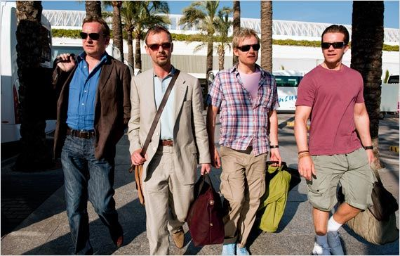 Mad Dogs : photo John Simm, Marc Warren, Max Beesley, Philip Glenister