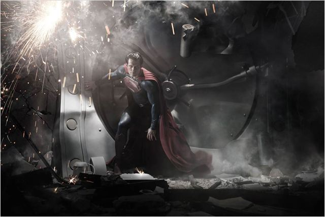Man of Steel : Photo Henry Cavill, Zack Snyder