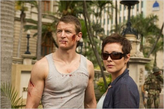 Strike Back : photo Amanda Mealing, Philip Winchester