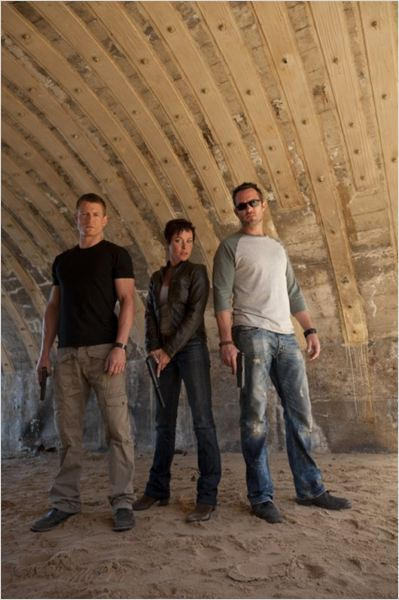 Photo Amanda Mealing, Philip Winchester, Sullivan Stapleton