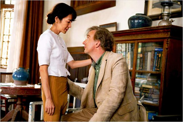 The Lady : photo David Thewlis, Luc Besson, Michelle Yeoh