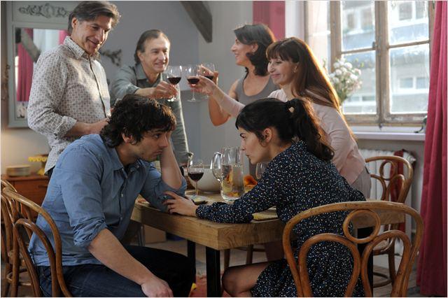 La Délicatesse : Photo Ariane Ascaride, Audrey Tautou, David Foenkinos, Olivier Cruveiller, Pio Marmai