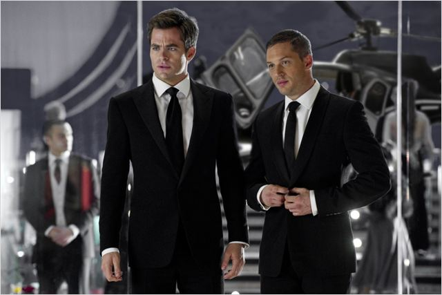 Target : Photo Chris Pine, McG, Tom Hardy