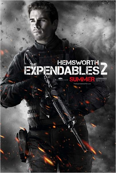 Expendables 2: unit&#233; sp&#233;ciale : affiche