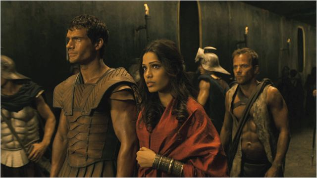 Les Immortels : Photo Freida Pinto, Henry Cavill