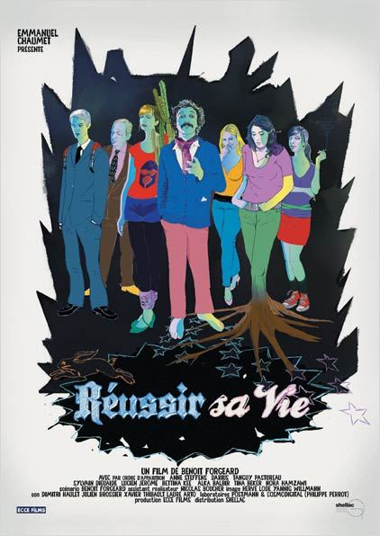 R&#233;ussir sa vie : affiche
