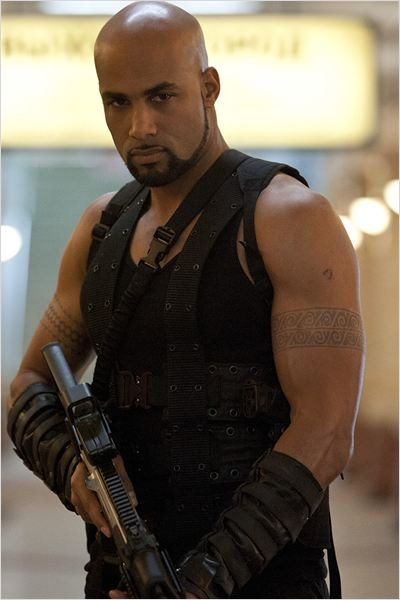 Resident Evil: Retribution : Photo Boris Kodjoe, Paul W.S. Anderson