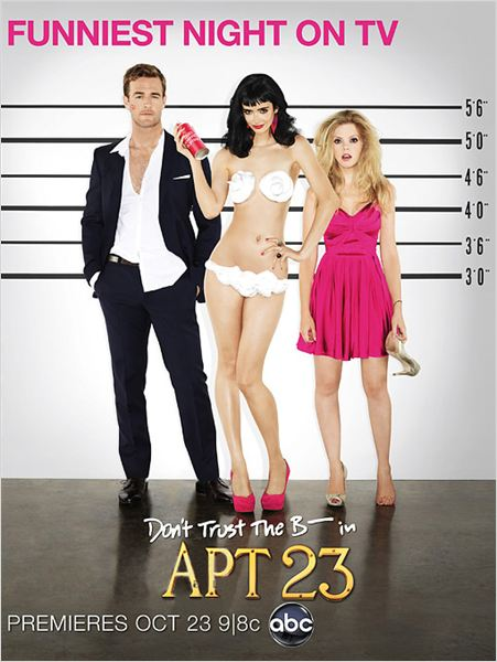 Photo Dreama Walker, James Van Der Beek, Krysten Ritter