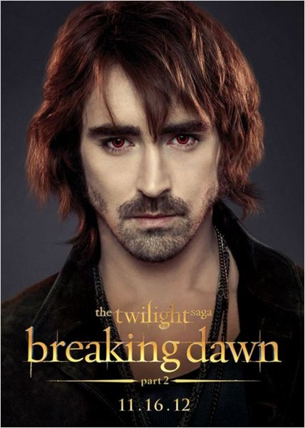 Twilight - Chapitre 5 : Révélation 2e partie : affiche Bill Condon, Lee Pace, Stephenie Meyer