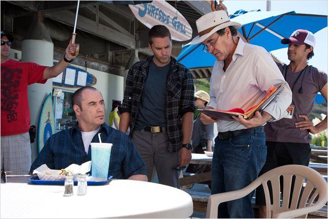 Savages : Photo John Travolta, Oliver Stone, Taylor Kitsch