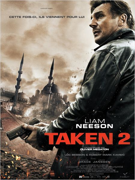 Taken 2 : affiche