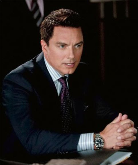Arrow : photo John Barrowman