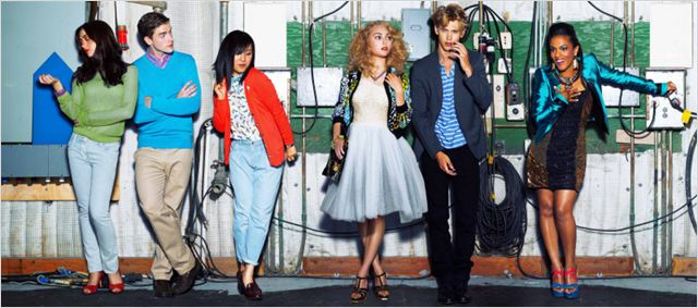 The Carrie Diaries : photo AnnaSophia Robb, Austin Butler, Brendan Dooling, Ellen Wong, Freema Agyeman