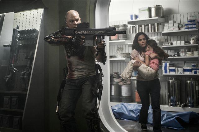 Elysium : Photo Alice Braga, Matt Damon
