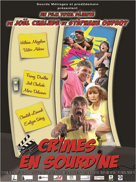Crimes en sourdine : affiche