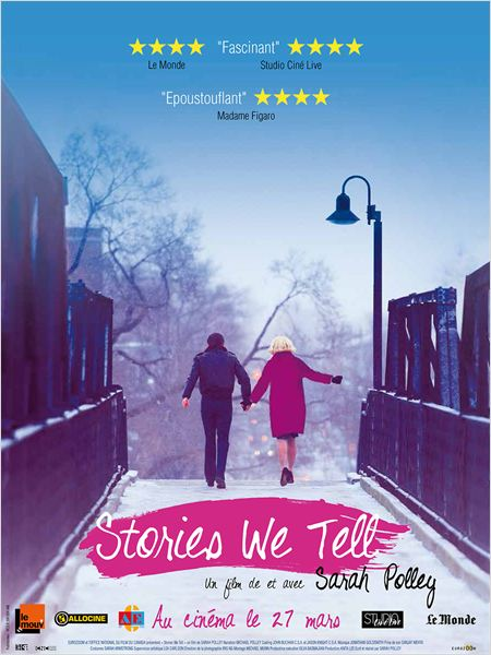 Stories We Tell : affiche
