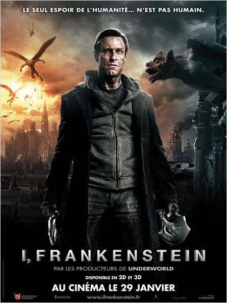 film I, Frankenstein en streaming