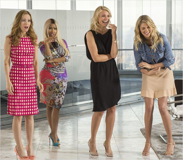 Triple alliance : Photo Cameron Diaz, Kate Upton, Leslie Mann, Nicki Minaj
