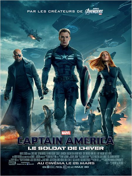Captain America, le soldat de l'hiver  BDRip TrueFrench