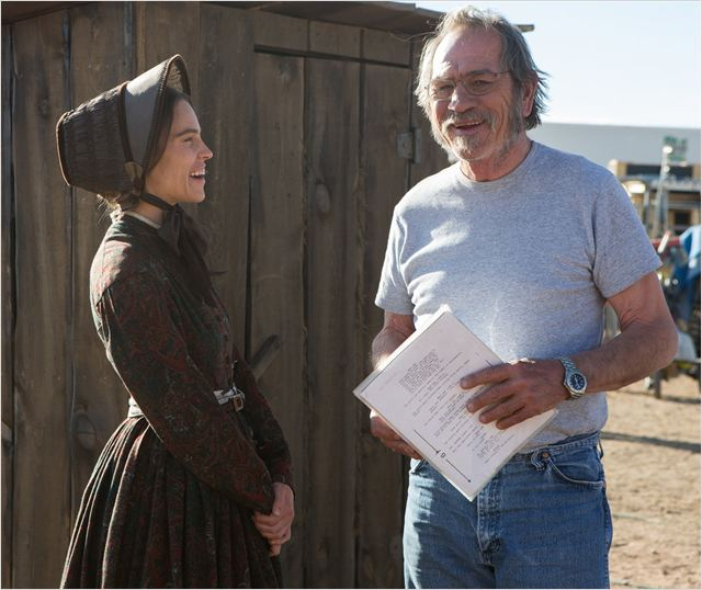 The Homesman : Photo Hilary Swank, Tommy Lee Jones
