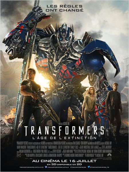 TELECHARGER Transformers : l'âge de l'extinction FRENCH Blu-Ray 1080p GRATUITEMENT
