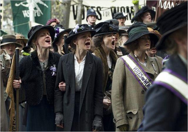 Les Suffragettes : Photo Carey Mulligan, Helena Bonham Carter