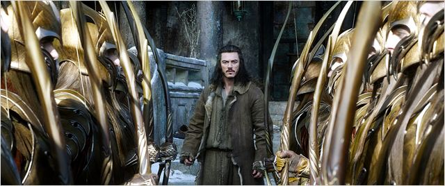 Le Hobbit : la Bataille des Cinq Armées : Photo Luke Evans