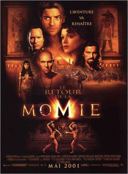 Le Retour de la Momie : Affiche