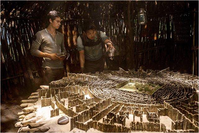 Le Labyrinthe : Photo Dylan O'Brien, Ki Hong Lee