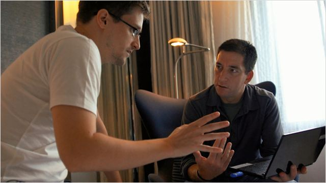 Citizenfour : Photo Edward Snowden, Glenn Greenwald
