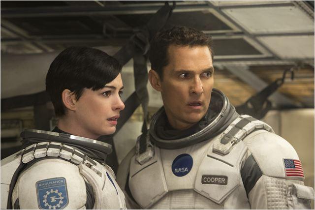 Interstellar : Photo Anne Hathaway, Matthew McConaughey